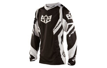 Royal Racing Race Downhill Tricot Heren wit/zwart